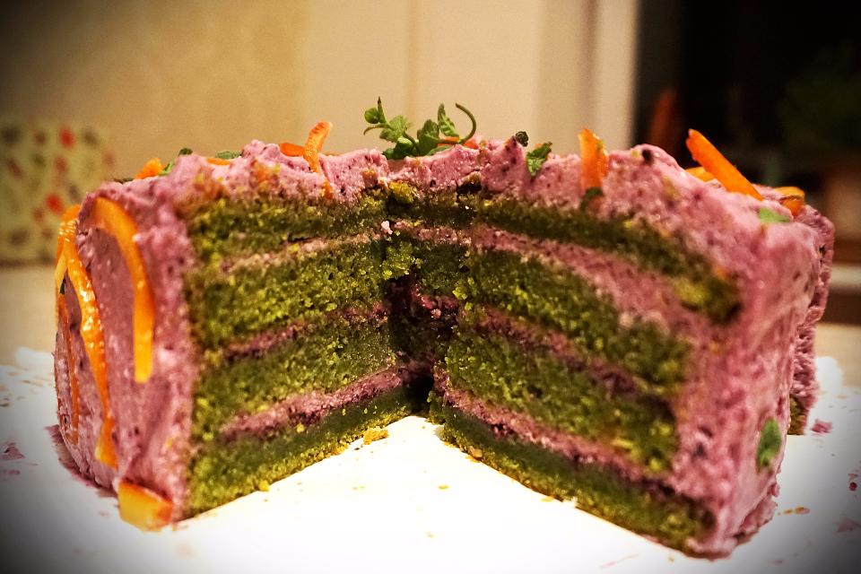 Шпинатний торт (за мотивами Ispanaklı Islak Kek)