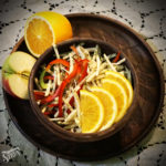 Салатка з селери і яблук  + салаткова ретроспектива