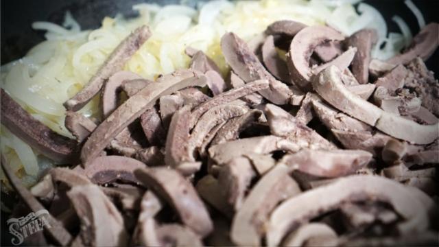 Смажені свинячі нирки