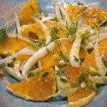 Салатка з фенхелю та помаранч. Іnsalada di finocchio e aranci