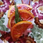 Пляцок з сицілійськими помаранчами і розмарином  на оливковій олії